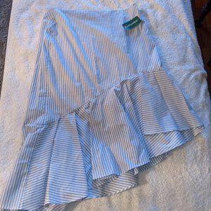 Contemporaine At Simons Faux Seersucker Skirt